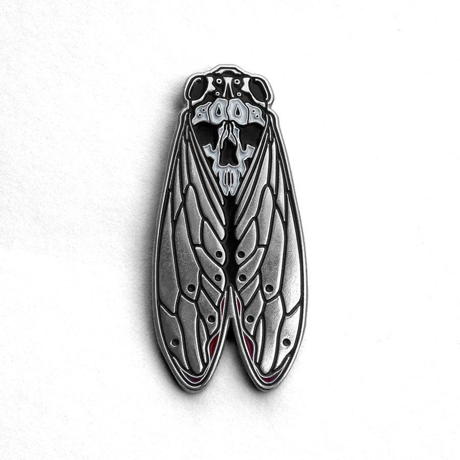 Image of Death's-Head Cicada Pin