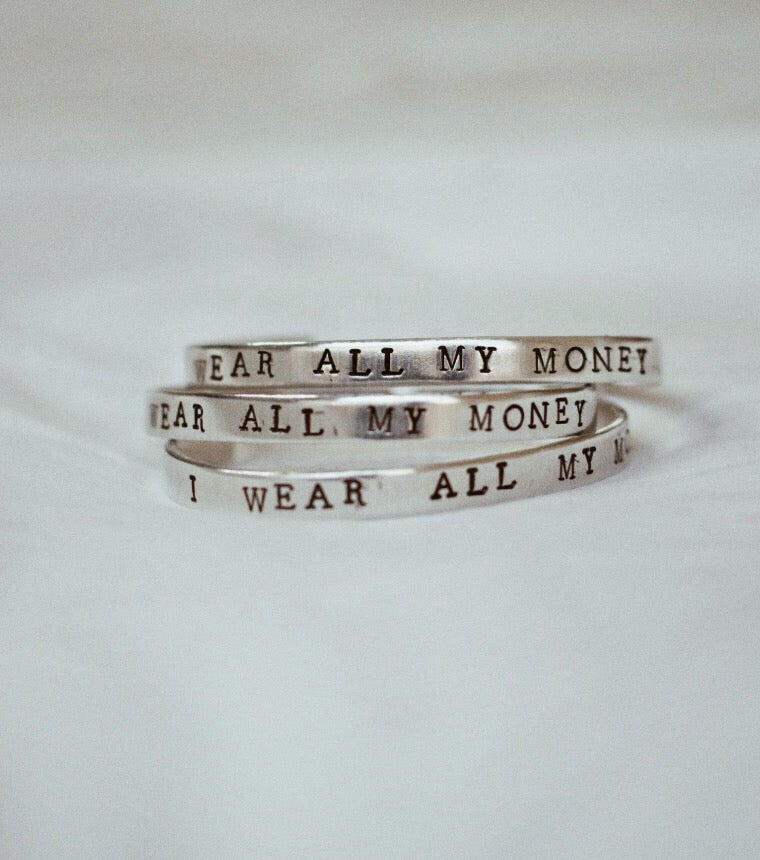 Image of I wear all my money