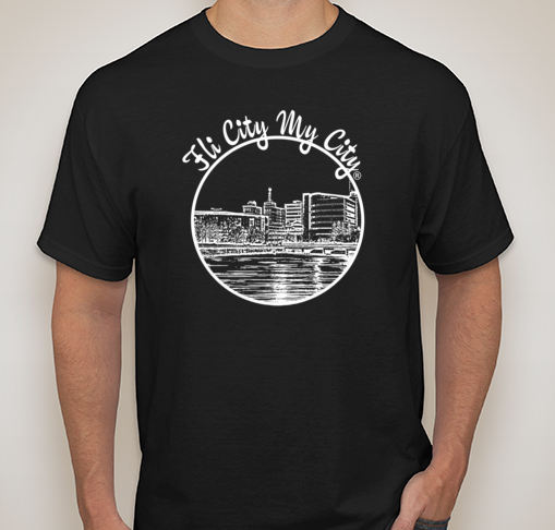 Image of Black Flint Skyline Tee