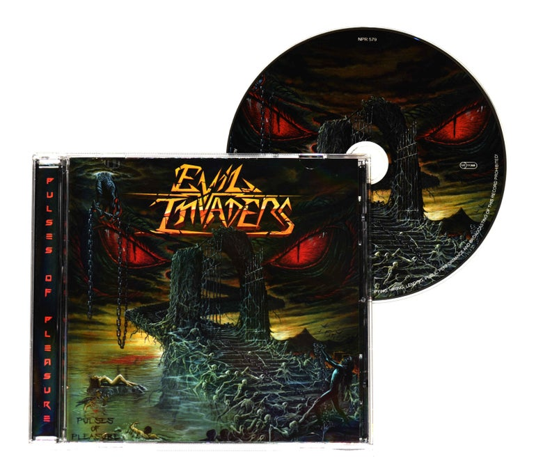 Image of Evil Invaders - Pulses Of Pleasure (CD)