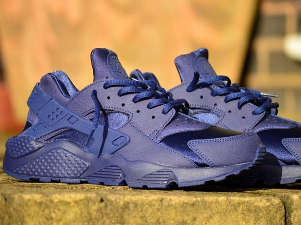 Image of NIKE HUARACHES BLUE | GS