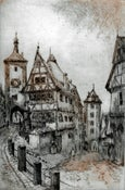 Image of The Plonlein, Rothenburg
