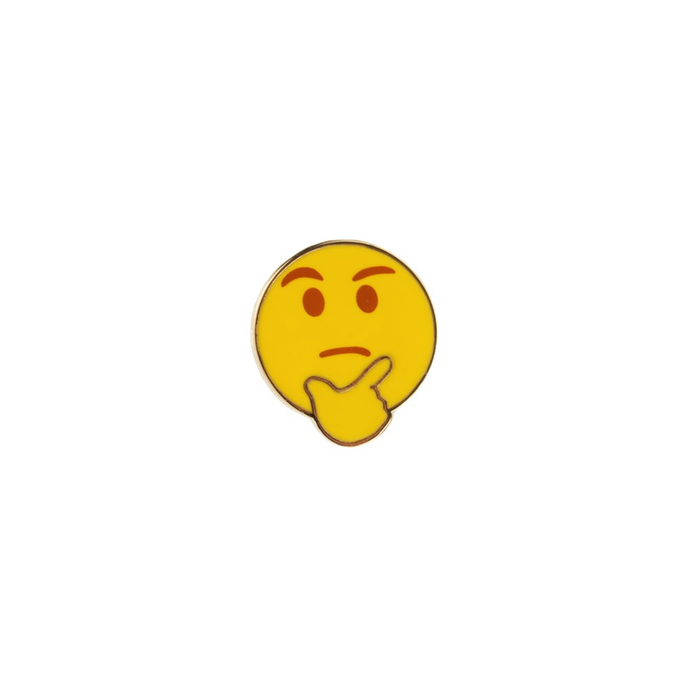 Image of Thinking Emoji Pin