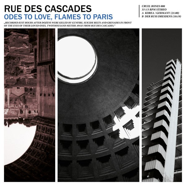 Image of RUE DES CASCADES - Odes to Love, Flames to Paris 12""