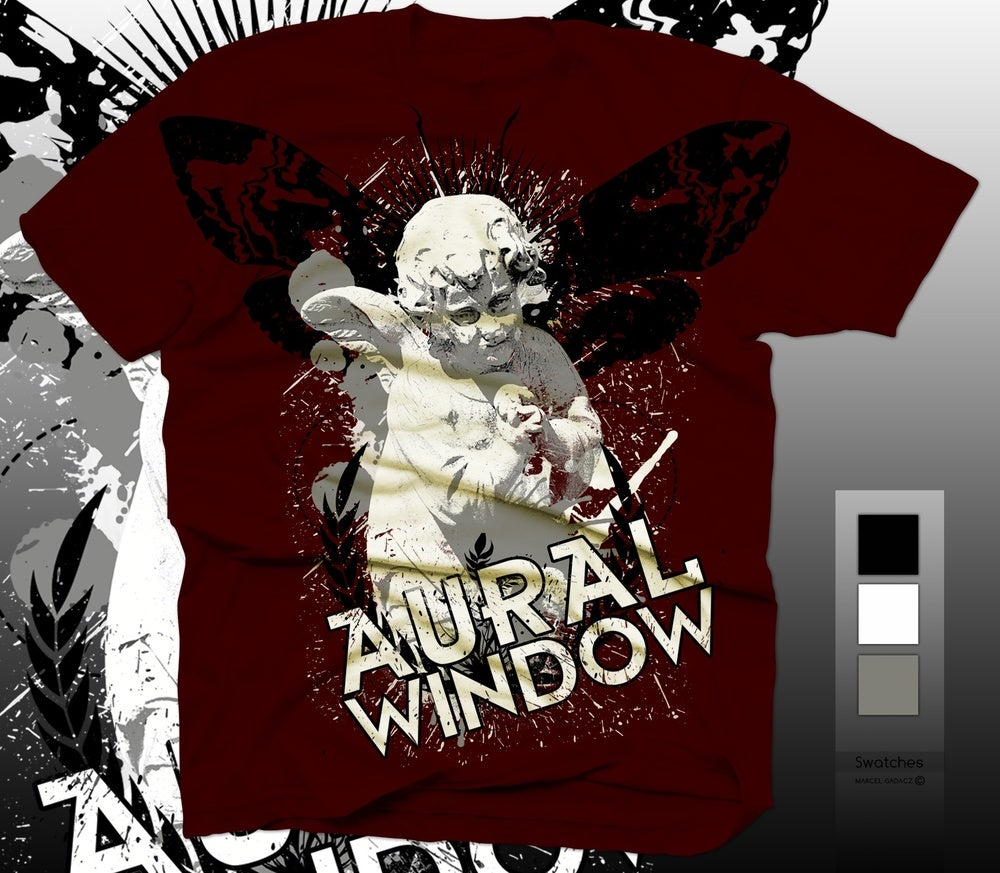Image of Aural Window Red Cupid Tshirt