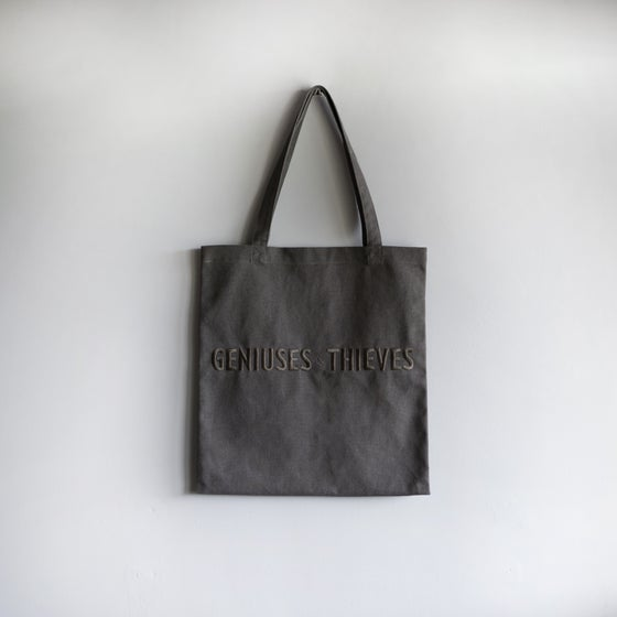 Image of G&T Canvas Grey Tote