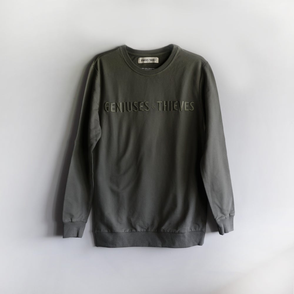 Image of G&T Olive Sweatshirt