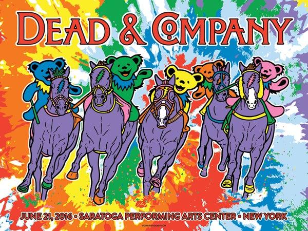 Image of Dead & Company Saratoga 2016