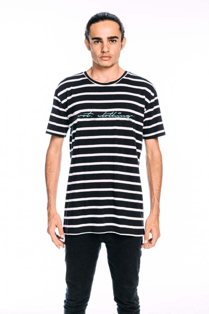 Image of Striped out T-shirt