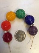 Image of Lampwork beads - Rainbow set