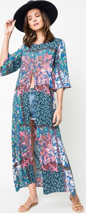 Image of Paisley Open Maxi
