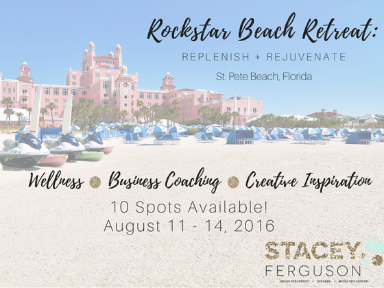 Image of Rockstar Beach Retreat: Replenish & Rejuvenate