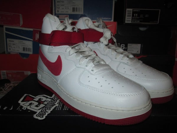 """Air Force 1 High Retro QS """"Naike - White"""" - FAMPRICE.COM by 23PENNY"""