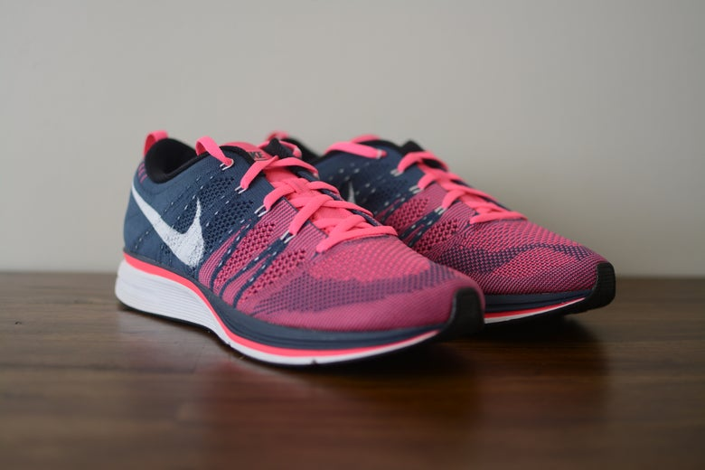 Image of Nike Flyknit Trainer+ Pink Flash