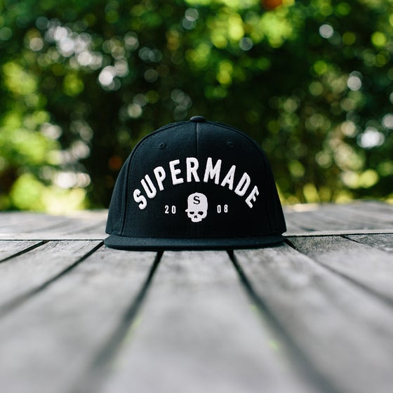 Image of Supermade Snapback BLACK