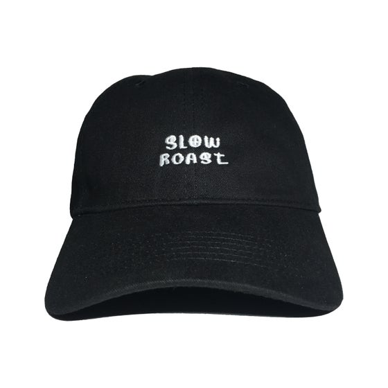 "Image of ""Peace"" Dad Hat - Black"