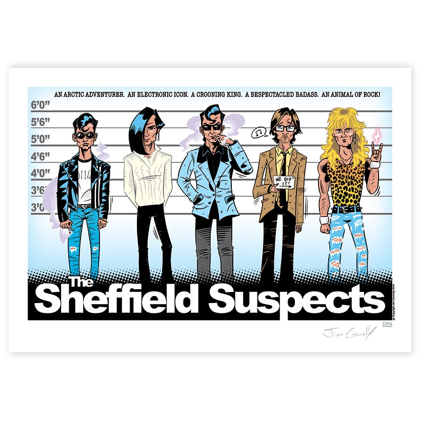 Image of The Sheffield Suspects