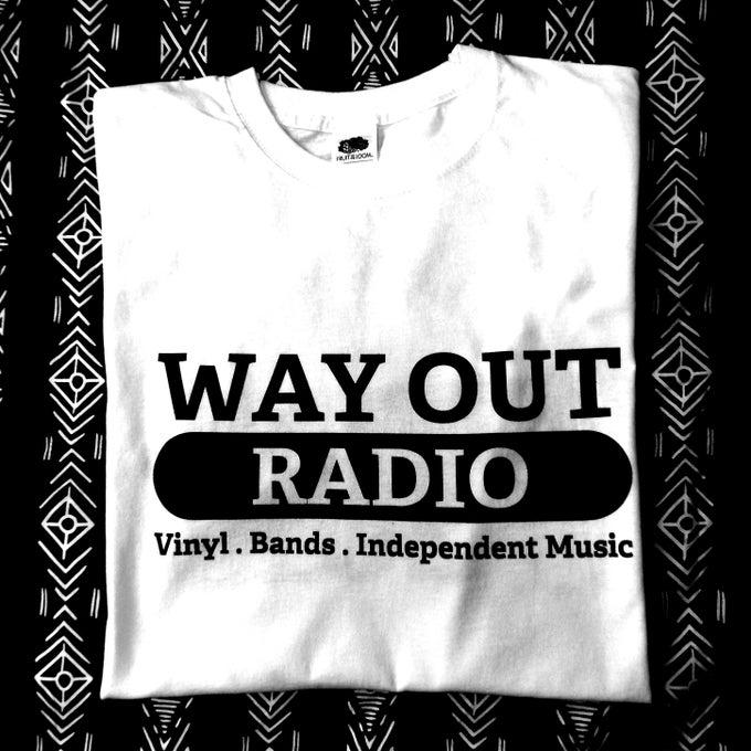 Image of WAY OUT RADIO LONG SLEEVE SHIRT