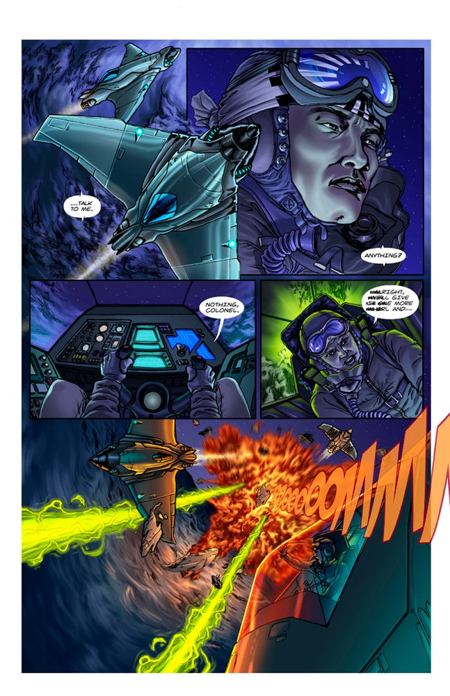 Image of F-00 FIGHTERS #1 [digital comic]