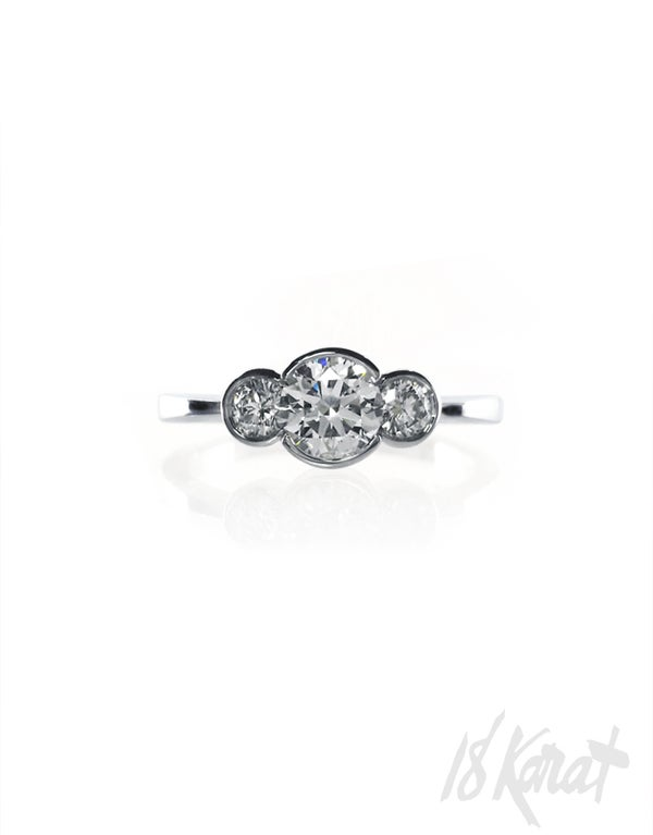 Danya's Engagement Ring - 18Karat Studio+Gallery
