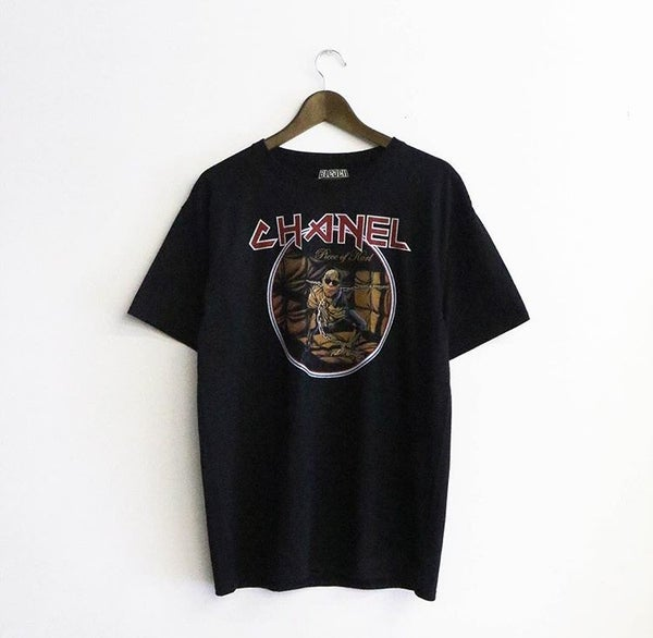 Image of BLEACHED GOODS CHANEL TEE
