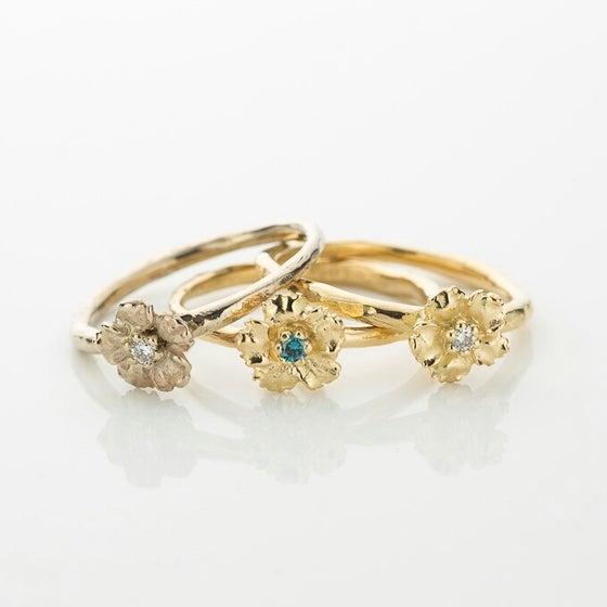 Beeld van Anemoon ring
