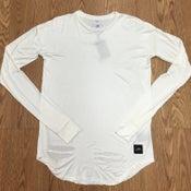Image of SJ Long Sleeve White Rotos