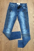 Image of SJ Blue Pant with Zipper