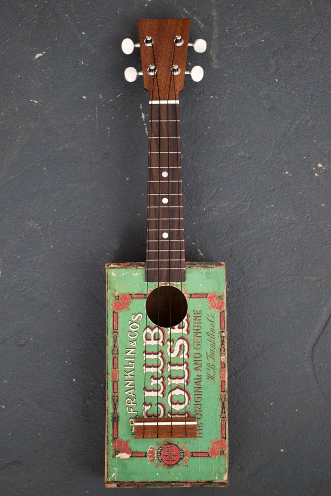 Image of Club House Cigar Box Ukulele