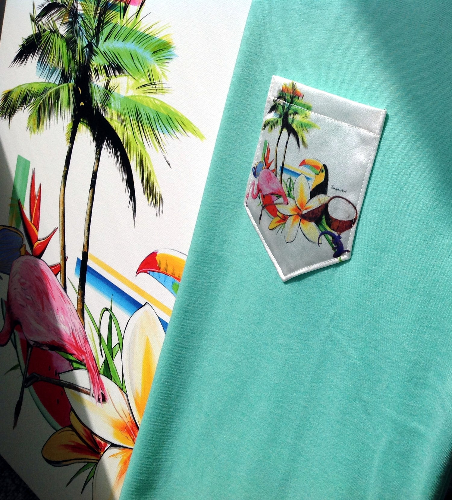 Image of Miro Island Silk Pocket
