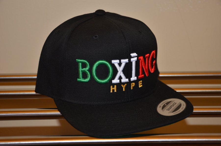Image of Black MEXICO Colorway Snapbacks
