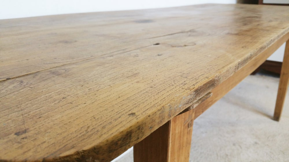 Image of grande table de ferme campagnarde