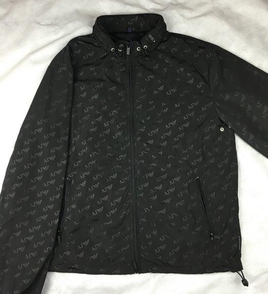 Image of Armani jeans SS16 black jacket