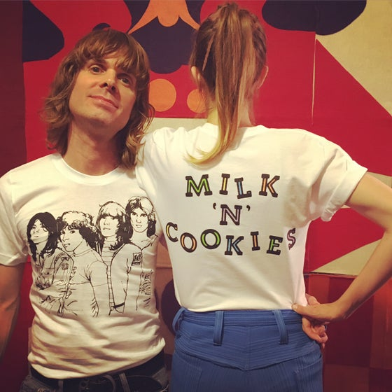 Image of Milk 'N' Cookies t-shirt