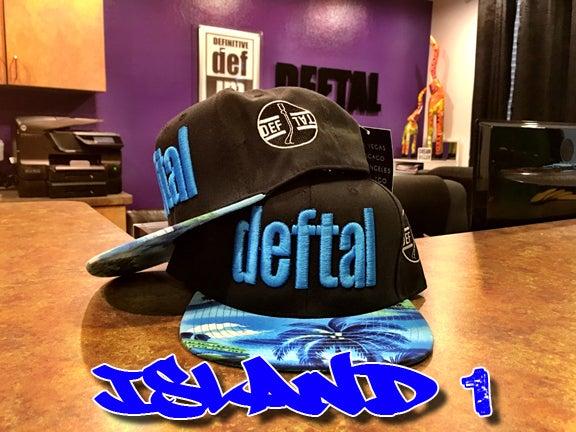Image of DEFTAL Snapbacks - Island Style