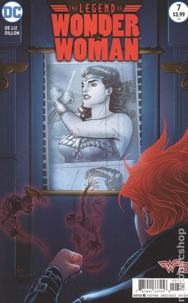 Image of Legend of Wonder Woman (2015) 7 comic book