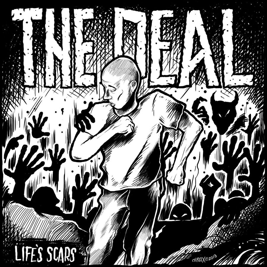 "Image of The Deal - Life's Scars 7"" Vinyl"