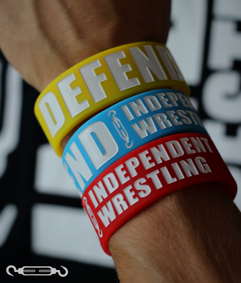 Image of DEFEND Wristband - Yellow/Red/Blue Bundle