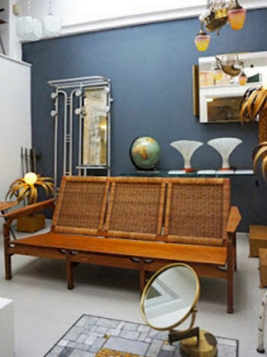 Image of French Cane Sofa