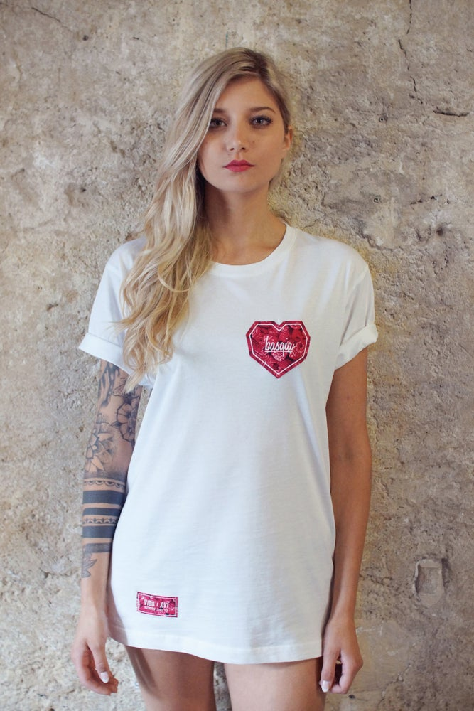"Image of ""Raspberries Heart"" Tee"