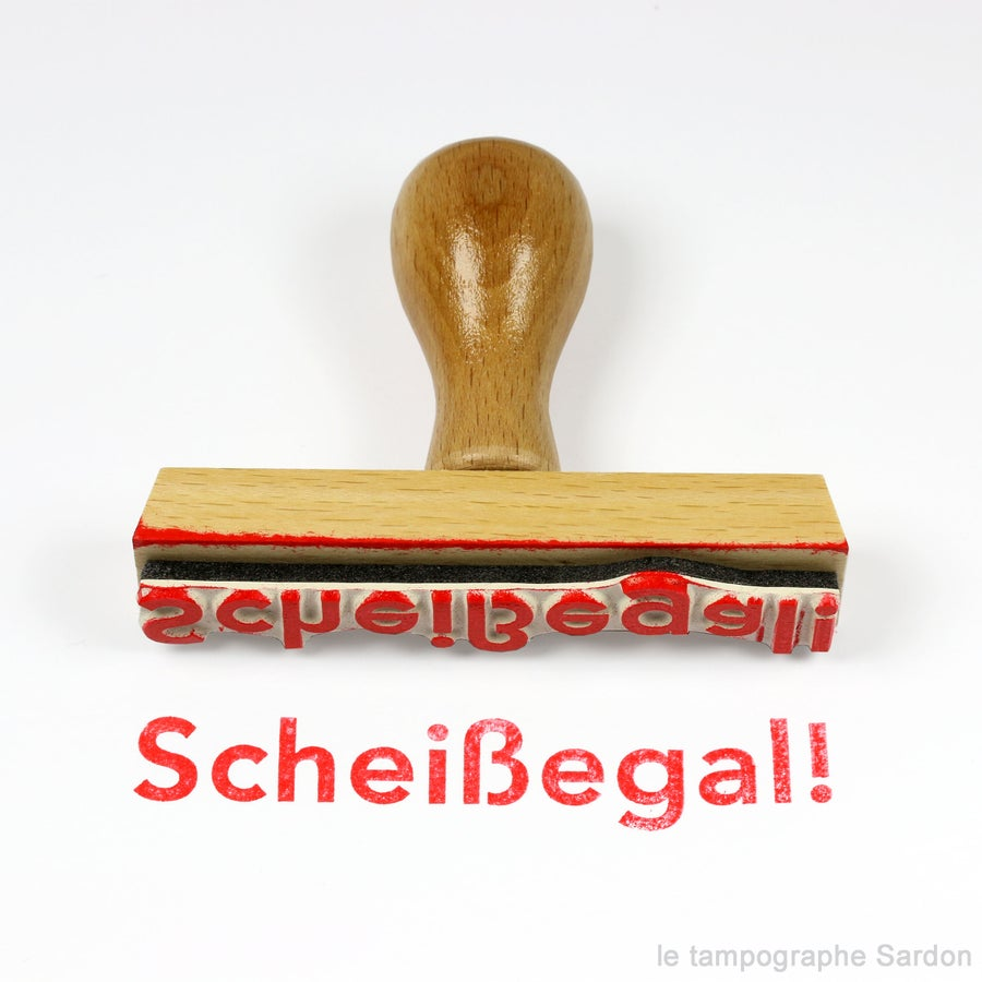 Image of Scheissegal!
