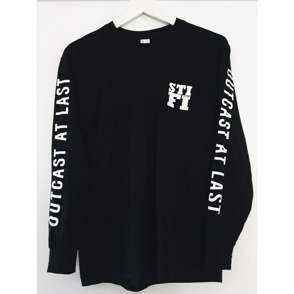 Image of STI FI Outcast At Last - Long Sleeve - Black