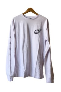 Image of Zion <br /> Chicken Apocalypse Long Sleeve Tee <br /> White