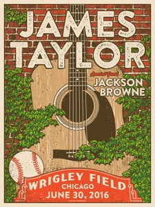 Image of James Taylor Wrigley Field 2016