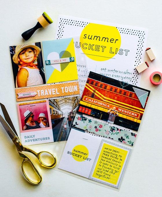 Image of Summer Bucket List + Journaling Cards Printables