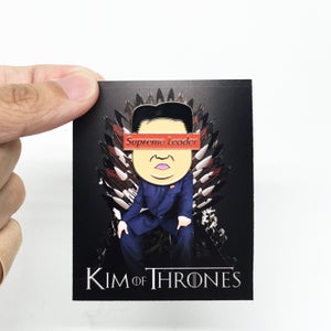 Image of Supreme Leader enamel pin