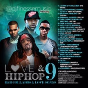 Image of LOVE & HIP HOP MIX VOL. 9 (HIP-HOP/R&B COLLABOS)