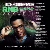 Image of R&B LEGEND MIX (BEST OF MAXWELL) ***WEBSITE EXCLUSIVE***