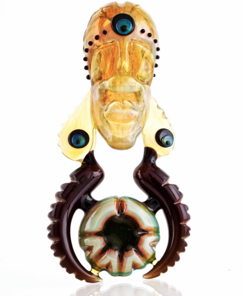 Image of Bishop x Carver B Yellow/Iluminati Pendant