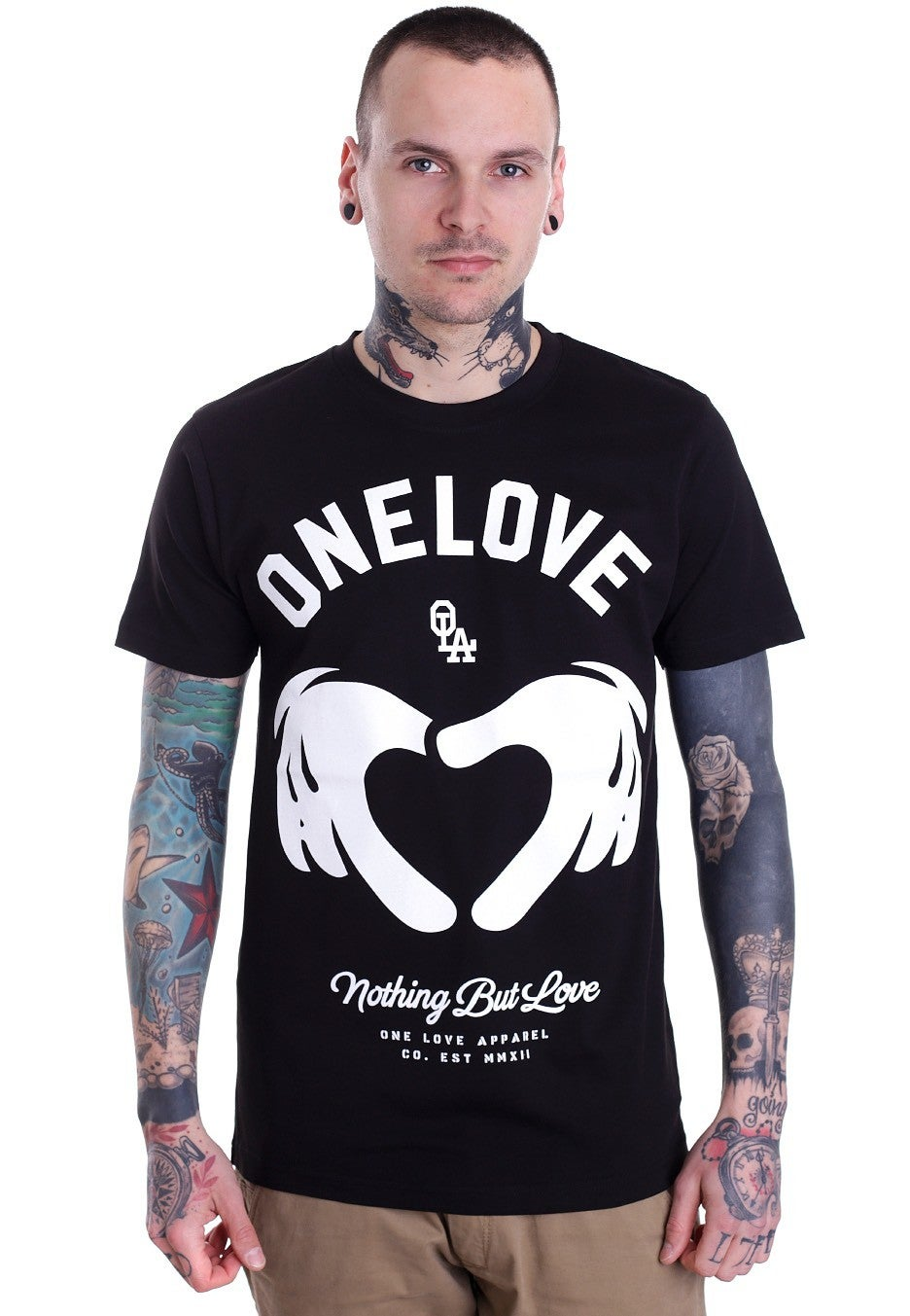 Image of [S7] Nothing But Love Black T-Shirt